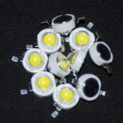 Lumière Watt Alta Led Diode Puissance Blanche Luminosidad Haute Luminosité Diy W Émettant Perles 3 Blanc 10 Diodos Pcs 4qAR5jL3
