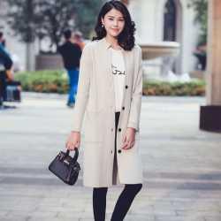 Femmes Hiver Lady Manteaux Épais Prix Tricoter 100 De Cachemire À qngpw0R
