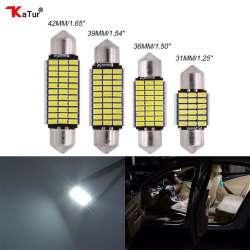 Light Plafonnier 31mm Lumières Éclairage 39mm Pcs Auto Emitting Tronc Plafond Led Intérieur Pour 36mm Voiture Lampe Voitures Diode De 2 42mm SUVGzMqp