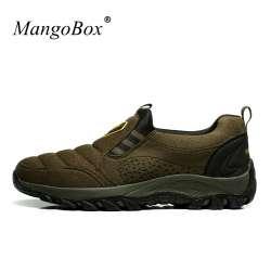 3360b6813332eb 2016 En Plein Air Hommes Chaussures Grande Taille Sport Mens Randonnée  Sneakers Automne chaussures de Marche Bottes Hommes Confortable Trekking  Bottes ...