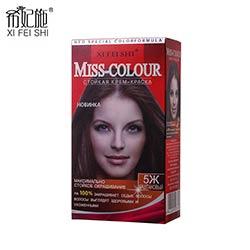 Craie de couleur pour les cheveux