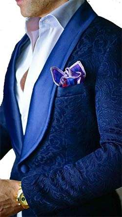 Blazer 2017 Hommes Royal Floral Prix Bleu Marque Designs 1wRqYAP