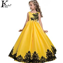 4df82905a16b8 2017 Nouveau Enfants Robes Pour Les Filles Robe De Noël Vêtements  Adolescent Princesse De Mariage robe Robes 5 6 7 8 9 10 11 12 13 14 ans