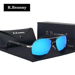 c96572c31a43ab 2017 Nouvelle Marque de mode lunettes de soleil polarisées hommes Classique  Rétro Pilote Lunettes Couleur Polaroid lentilles Conduite femmes lunettes  de ...