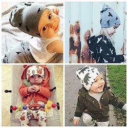 2017 un chapeau Nouveau-Né Automne Hiver Bébé Chapeau Tricoté bébé Au Chaud  casquettes Coton bébé garçons filles chapeaux pour Nouveau-Né Enfant  Enfants ... 0662da6ac2b