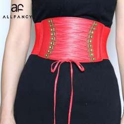 2017New Europe large ceinture ceinture mode femme élastique gland large  ceinture décoration robe accessoires ceinture femmes ceinture 909c3fb4c3f