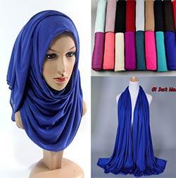 30 couleur Livraison gratuite Chaude Adulte Coton Musulman Hijab Le Nouveau  Turban Jersey Baotou En Gros Écharpe Monochrome Élargissement Haute-grade bda1aaae3cb