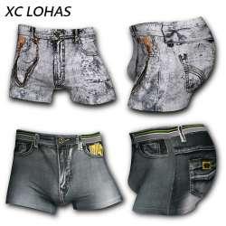431a80346f 4-pcs-ensemble-nouveau-coton-jeans-hommes -boxeurs-sous-vetements-sexy-u-convexe-3d-impression-male-sous-vetements-shorts-de- mode-nouveaute-cowboy-marque- ...