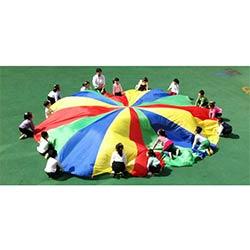 Daxoon Swing Cloth Parachute Parachute Jouet Enfants Arc-en-Parachute Jouet pour Activit/és en Plein Air