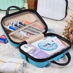 bas prix a2c77 dc0ed ABS sac à main Cosmétique sac Nouveau sandwich sac À Fermeture Éclair Mini  boîte Paquet amour Une petite valise La bagages gratuite livraison