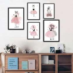 Prix Aquarelle Affiche Imprimer Wall Art Toile Peinture Image Pour
