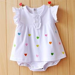 daf94da1f3879 Bébé Fille Barboteuses D été Filles Vêtements Ensembles Roupas Bebes Fleur  Nouveau-Né Bébé Vêtements Mignon Bébé Combinaisons Infantile Filles  Vêtements