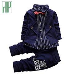 fe917454ba023 Bébé garçon vêtements printemps 2016 formelle enfants vêtements costume 2  pcs garçons ensemble bébé né gentleman enfant garçon vêtements  d'anniversaire ...