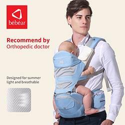 8cab2a3c41a9 Bébéar siège pour hanche hipseat pour prévenir o-type jambe aluminium  aéronautique core porte-bébé Ergonomique manduca sacs à dos sauvegarder  effort kid ...