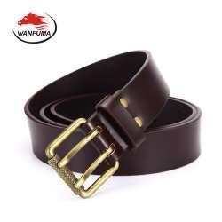 Ceinture pour homme 2017 véritable ceintures en cuir cowboy double broches  bracelet en métal hommes mans de luxe ceintures boucle designer hommes  ceinture ... 93ff7d4d03a