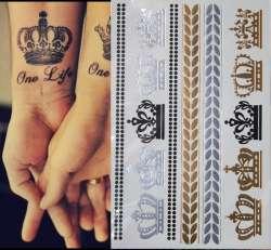 Prix Chaude En Metal Dans Le Style De La Simulation Temps Etanche Sexy De Tatouage De Tatouage Autocollants Carte Memoire Bijoux Design Faux Tatouage Site Chinois Moins Cher
