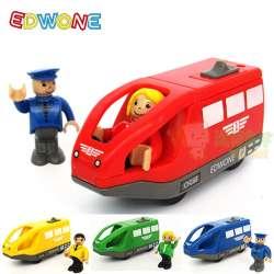 Magnétique Couleur Moulé Électrique Jouets En Fente 5 5 Edwone Train Pour Enfants Sous Pression 11 Cadeaux 4 Cm Bois D'anniversaire 3AjL5R4