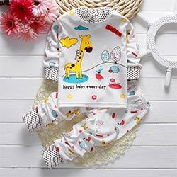 b62abce0ec55b Enfant Bébé Garçons Filles Pyjamas Capitaine Girafe Lapin Imprimer Pyjamas  ensemble De Nuit Manches Longues t-shirt + Pantalon Enfants vêtements de  Nuit 21