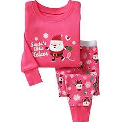 8448d62d62320 Enfants Filles De Noël Pyjamas Set Bébé Filles Vêtements Set 2-7 ans  Enfants Garçons de Nuit Bébé Pijama Pyjama Costume Pour Bébé garçon