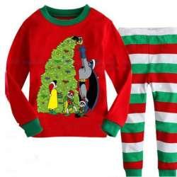 7cd471d416d2c Enfants Vêtements Set Enfants De Noël Pyjama de Bande Dessinée Garçons de  vêtements de Nuit 2-7 Ans Enfants Pyjamas Infantile Bébé Garçon Pijama  Costume