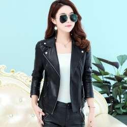new style b4577 fd425 femmes -court-mince-faux-pu-veste-en-cuir-dames-2018-printemps-nouvelle-europe-de-mode-rue-fermeture-glissiere-de-base-vestes-manteau-femelle- survetement.jpg
