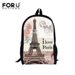 Paris Eiffel Pouces 16 Tour Sacs Enfants Forudesigns Impression Prix X0P8Oknw