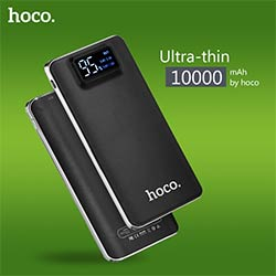 prix hoco 10000 mah grande capacit double usb ultra mince batterie externe portable chargeur. Black Bedroom Furniture Sets. Home Design Ideas
