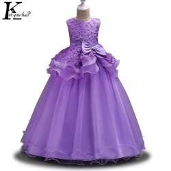 d89ac9371ce74 KEAIYOUHUO Robes D été Pour Filles Vêtements Princesse Filles De Mariage  Robe De Pâques Partie Adolescents Robe Robes Vêtements Pour Enfants