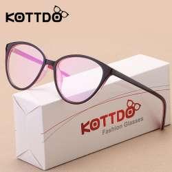 847118939054c3 KOTTDO Mode Femmes Cat Eye Lunettes Cadre Hommes Optique Glasse Cadre Rétro  Lunettes Ordinateur Lunettes verres Transparents