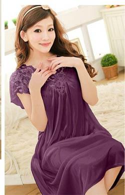 prix livraison gratuite femmes dentelle sexy chemise de nuit filles plus la taille peignoir. Black Bedroom Furniture Sets. Home Design Ideas