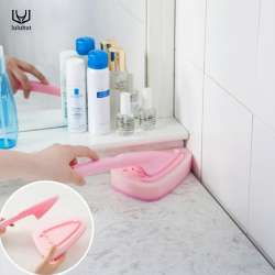 Luluhut Menage Poignee Brosse De Nettoyage Magique Melamine Eponge Cuisine Salle Bains Cleaner Ont Remplacable