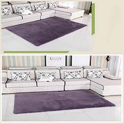 Maison salon/chambre tapis moderne Doux Antidérapant tapis Violet gris gris  rose bleu couleur 400 MM * 800 MM