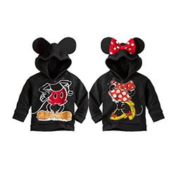meilleure vente meilleures chaussures achats Mignon bébé enfant sweat manteau de bande dessinée minnie mickey costume à  capuche manteau pour 1-6ans enfants petits garçons filles survêtement ...