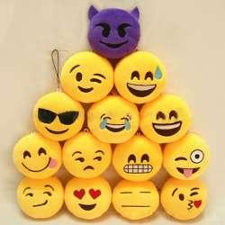 Prix Mode 1 Pc Emoji Emoticone Sourire Drole Visage Porte Cles Pendentif Telephone Chaine Porte Cles Porte Peluche Sac Accessoire Site Chinois Moins Cher