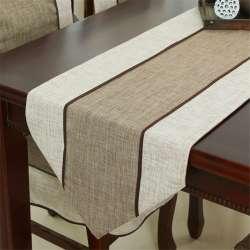 Moderne Minimaliste Style Rétro Tissu Chemin De Table Nouvelle Chinois  Classique Table Basse Drapeau Solide Table Tapis