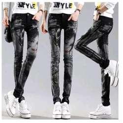 noir-longues-jeans-femme -casual-crayon-pantalon-fille-lave-strass-chaud-forage-impression-maigre-longues- femmes-jeans-capris-femelle.jpg 5d5095d0cae