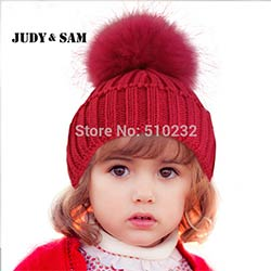 Nouveau 2015 Bébé Enfants Neige Chapeau D hiver Laine Bonnet En Tricot  Raton Laveur Chapeaux Pour Enfants Vêtements Accessoires De Mode Chapeau De  Noël ... 884bd7a8d26