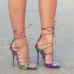 Sexy Sandales Femme Coloré Chaîne Mode Nouvelle Prix Bout Ouvert À dBrxCeWo