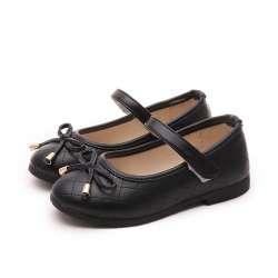 8fcff5cb34ee0 Parti Filles Chaussures 2017 Printemps Automne Mode Enfants Chaussures  Filles Princesse Chaussures En Cuir Étudiants De Danse Chaussures Enfants  ...