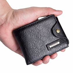 d64e870bf5a Petit portefeuille hommes multifonction bourse hommes portefeuilles porte- monnaie poche à glissière hommes en cuir portefeuille mâle célèbre marque  sac d  ...