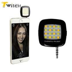 Led Lumière Selfie Portable Rechargeable 16 Caméra Prix Flash Lampe m8v0Nnw