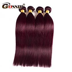 Couleur cheveux rouge bourgogne
