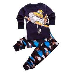 80a9244147c4e Pyjamas enfants pour filles garçons vêtements de Nuit Pour Enfants enfants  ensembles manches longues vêtements bébé sous-vêtements de sommeil pantalon  de ...