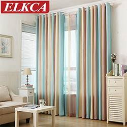 raye imprime fenetre rideaux pour la chambre a coucher fantaisie enfants moderne rideaux pour salon faux linge rideaux pour les enfants