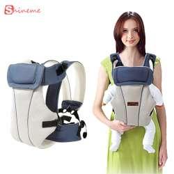 e24a00cd8699 Respirant multifonctionnel avant face porte-bébé infantile bébé sling sac à  dos pouch wrap bébé kangourou pour 0-30 mois bébé