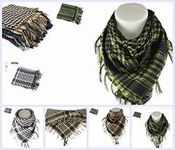 Shemagh Militaire Écharpe Islamique Airsoft Musulman Multifonction Tactique  Arabe Keffieh Homme Wrap Bandana Hijab Palestine Sq303-2 a2c1fcef3ea