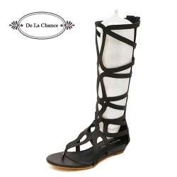 Sandales 2018 Genou Femme Style Haute Prix Mode D'été Chaussures De 4Aq5R3jL