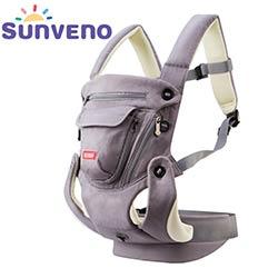 e5be602f3484 SUNVENO Ergonomique Porte-Bébé Respirant Avant Face Infantile Bébé Sling  Backpack Pouch Wrap Bébé Kangourou Pour Bébé 0-12 mois