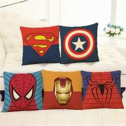 Prix Super Heros Housse De Coussin Taie D Oreiller Superman