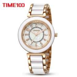 Quartz Laides Femmes Time100 Prix Bracelet Casual De Montres Mode hQsrtd